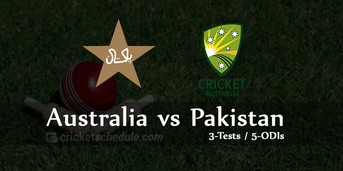 Pakistan vs Australia Live Score, live streaming
